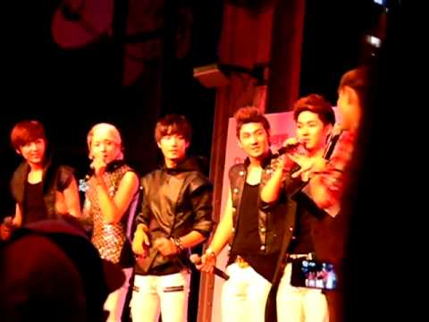 NU'EST saying 'I love you' to fans in Chinese & Malay!