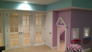 Doll House In This Finished Basement Www.finishedbasementnj.com
