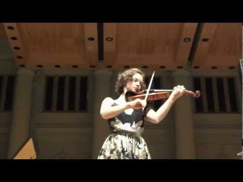 Hilary Hahn - Bach Sonata No.2 em Lá menor, BWV 1003 (III. Andante)