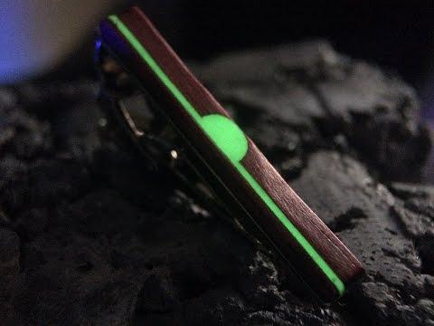 Exotic Wood Glow Tie Bars