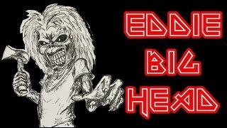DIBUJANDO AL EDDIE KILLERS BIG HEAD DE IRON MAIDEN