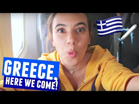 GREECE, HERE WE COME!!