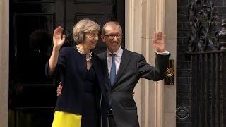 Theresa May becomes new British Prime Minister
