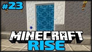 Wohin gehen die Portale? | Minecraft Rise #23
