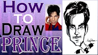 How To Draw A Quick Caricature Prince