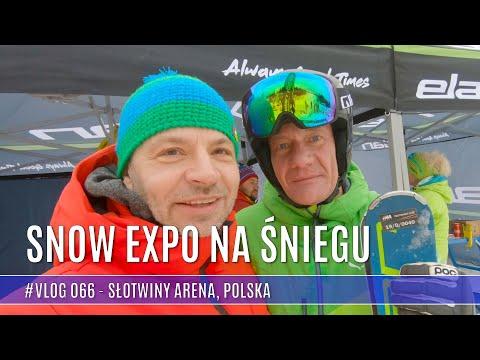 Słotwiny Arena - Snow Expo na śniegu, zdobywam wieżę widokową w Krynicy