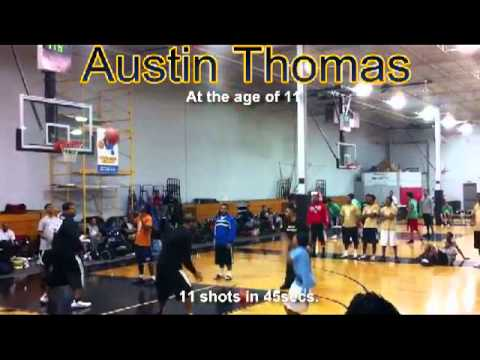 Austin Thomas 3pt. Shooting Competition at 11