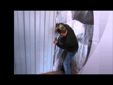 How to Insulate a Shipping Container to prevent frost or maintain temperature