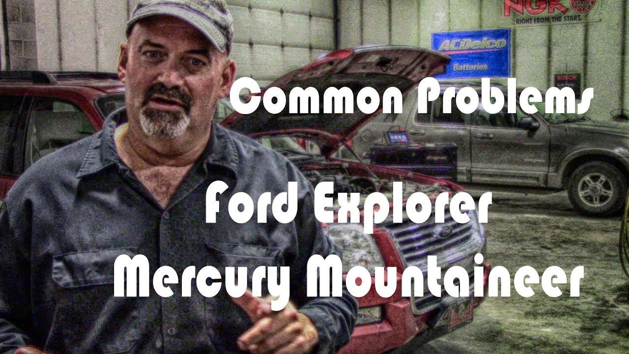 Common Ford Explorer Mercury Mountaineer Problems