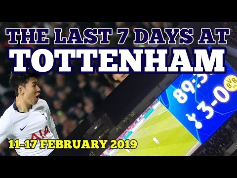THE LAST 7 DAYS AT TOTTENHAM: Dortmund Win, 4 in 4 for Heung-Min Son 손흥민: 11-17 February 2019 Mp3