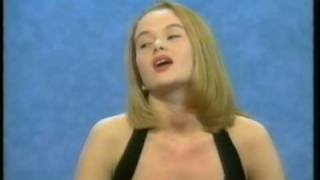 Amanda Holden 1991 Blind Date UK TV (Britain's Got Talent judge) 'Before they were famous'