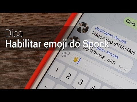 Como Ter O Emoji Do Spock No IOS 8.3 | Dica Do Tudocelular.com