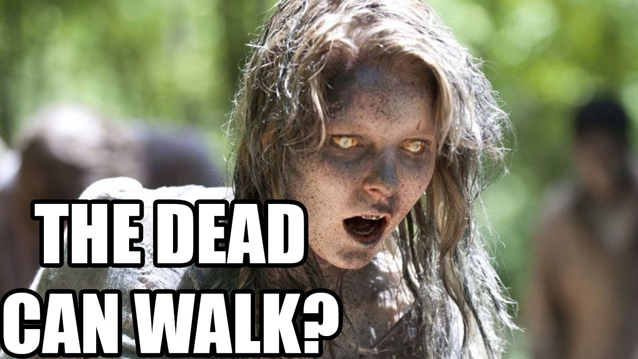 The Dead CAN Really Walk!  IRL Walking Dead, Walking Corpse Syndrome