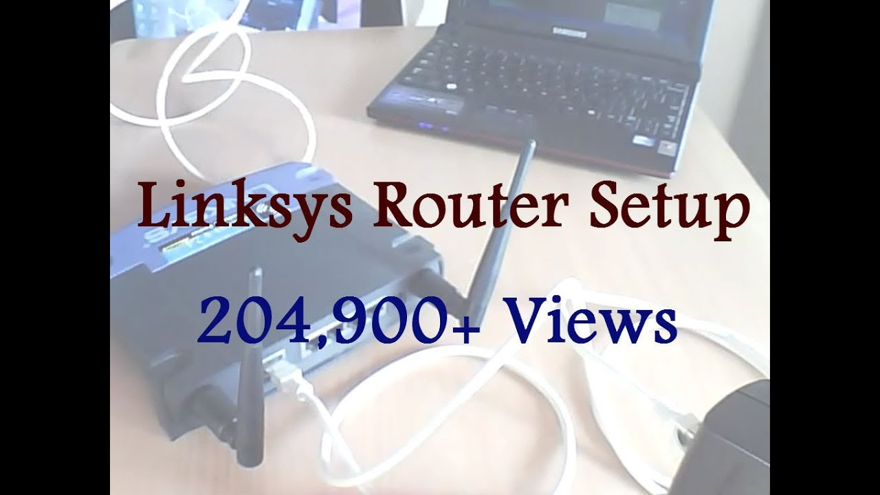 small resolution of linksys router setup
