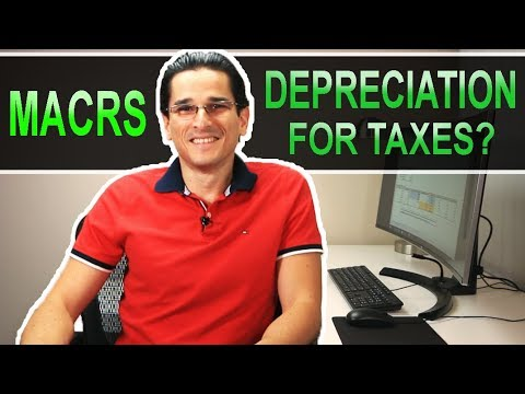 How To Depreciate Assets For Tax Purposes - MACRS Depreciation - Part 2 Of 2