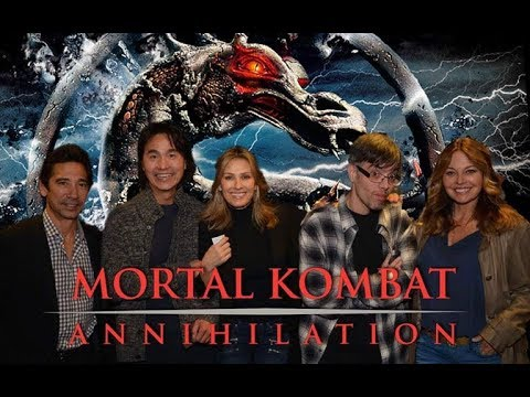 Meeting the Cast Of Mortal Kombat Annihilation !!!