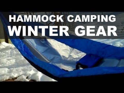 Winter Camping - Hammock Gear Testing - YouTube