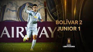 Bolívar vs. Junior [2-1] | RESUMEN | Fase 3 | IDA | CONMEBOL Libertadores