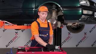 Jak wymienić końcówkę drążka kierowniczego w VW GOLF 3 TUTORIAL | AUTODOC