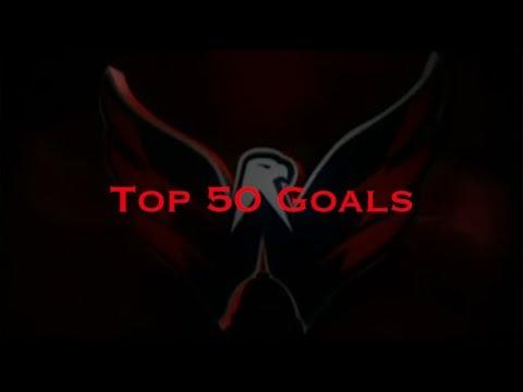Alex Ovechkin's Top 50 Goals (HD)