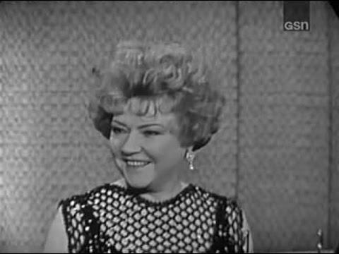 What's My Line? - Ethel Merman; Allen Ludden [panel] (Oct 27, 1963)