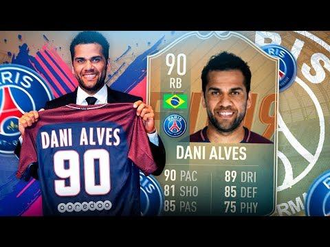FIFA 19: FLASHBACK DANI ALVES Squad Builder BATTLE 🔥🔥