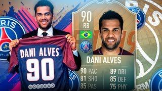 FIFA 19: FLASHBACK DANI ALVES Squad Builder BATTLE 🔥🔥