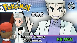 Pokemon Battle Challenge 6: Trainer Red VS Prof Oak
