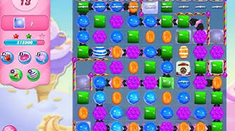 Candy Crush Saga Level 5734 (No boosters)
