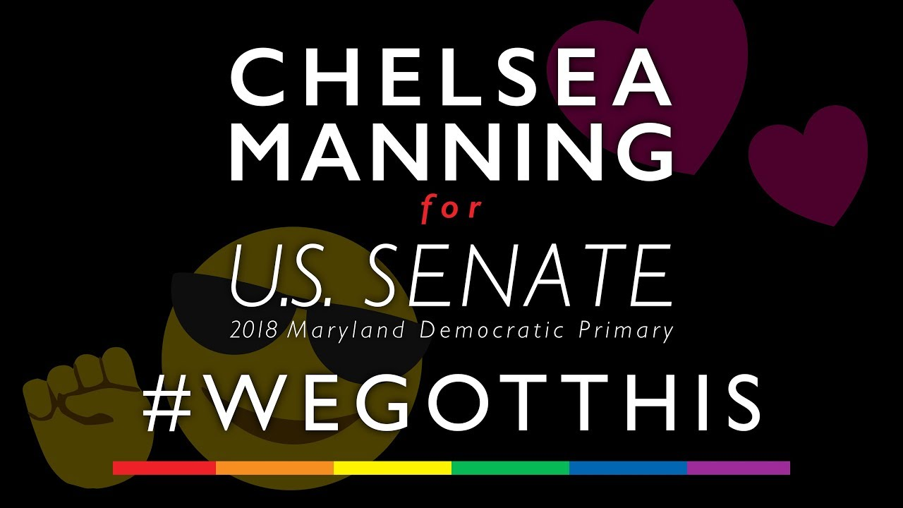 Chelsea Manning for U.S. Senate