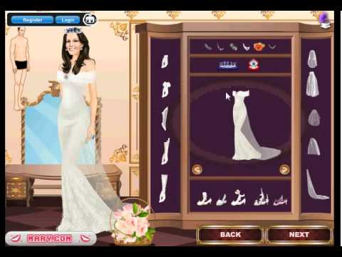 Royal wedding dress up games youtube for Dress up games wedding