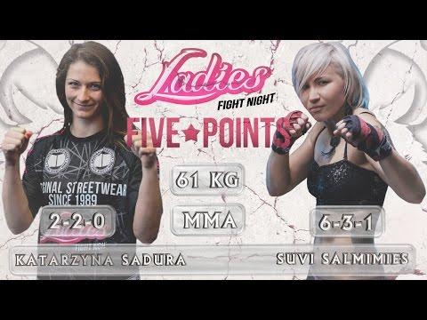 "Gala LFN ""Five Points"". Walka Katarzyna Sadura vs Suvi Salmimies"