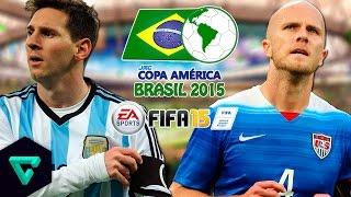 Argentina vs. USA   Quarter Finals   jmc Copa América 2015   FIFA 15
