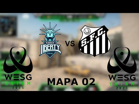 Havan Liberty vs Santos - MAPA 02 (Dust2) - Wesg 2021 Brazil | PT-BR