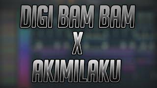 DIGI BAM BAM X AKIMILAKU Remix By DJ USUP