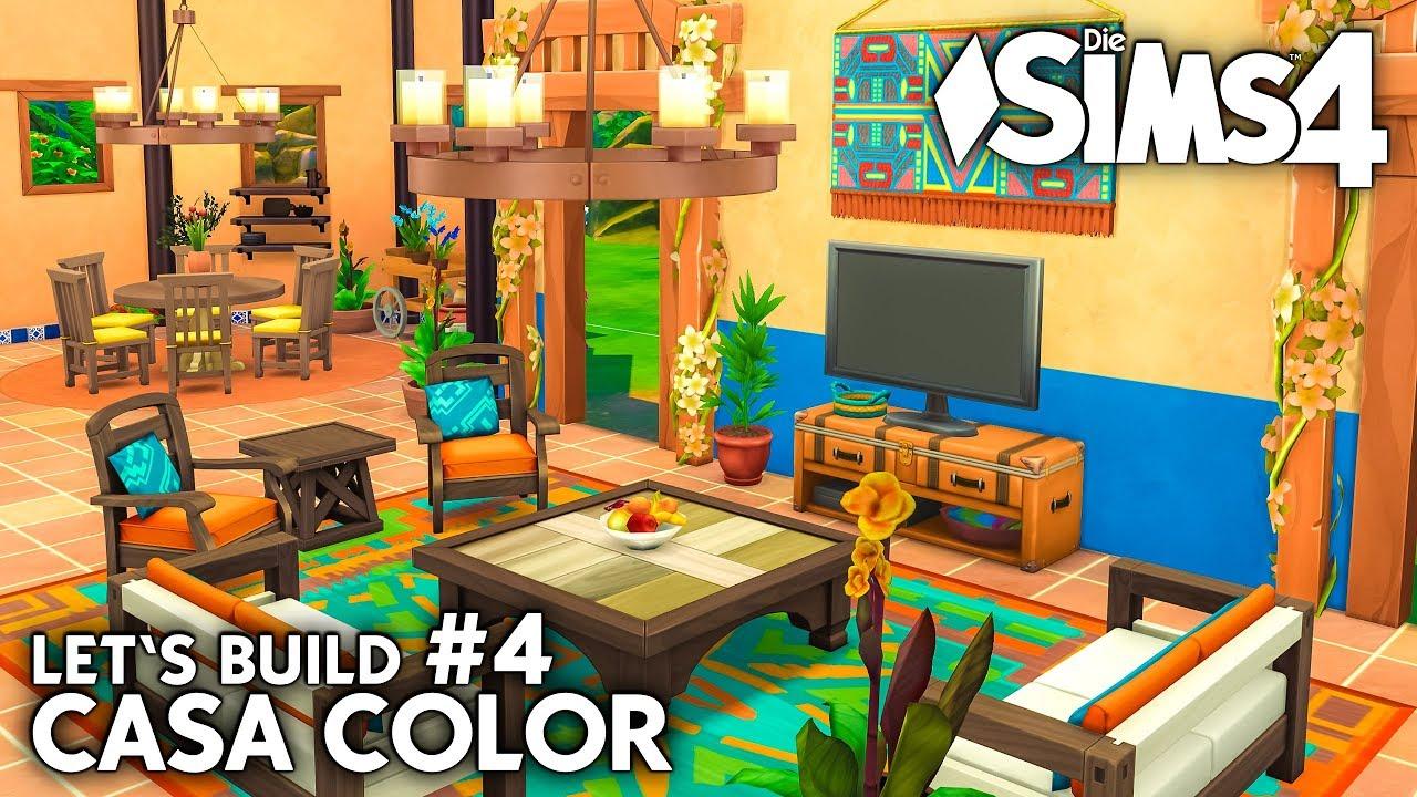 Die Sims 4 Haus bauen | Casa Color #4: Schlafzimmer (deutsch) - YouTube