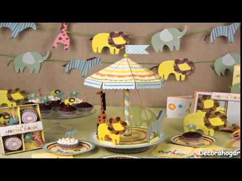 c mo decorar baby shower del bebe youtube