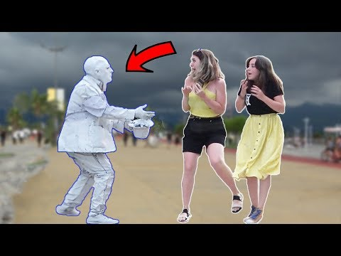 Scary Human Statue Prank 2019 #2 | AWESOME REACTIONS -Best of Just For Laughs