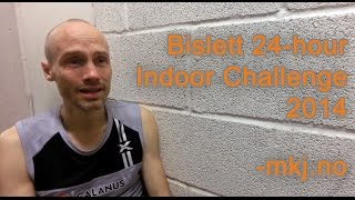 Bislett 24 hour indoor challange 2014