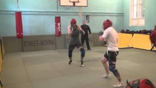 Уличный бокс. www.Street-boxing.ru  Круговые бои.