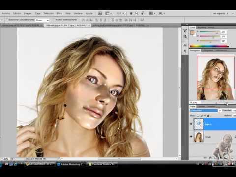 Como hacer una foto caricatura en photoshop cs4 95