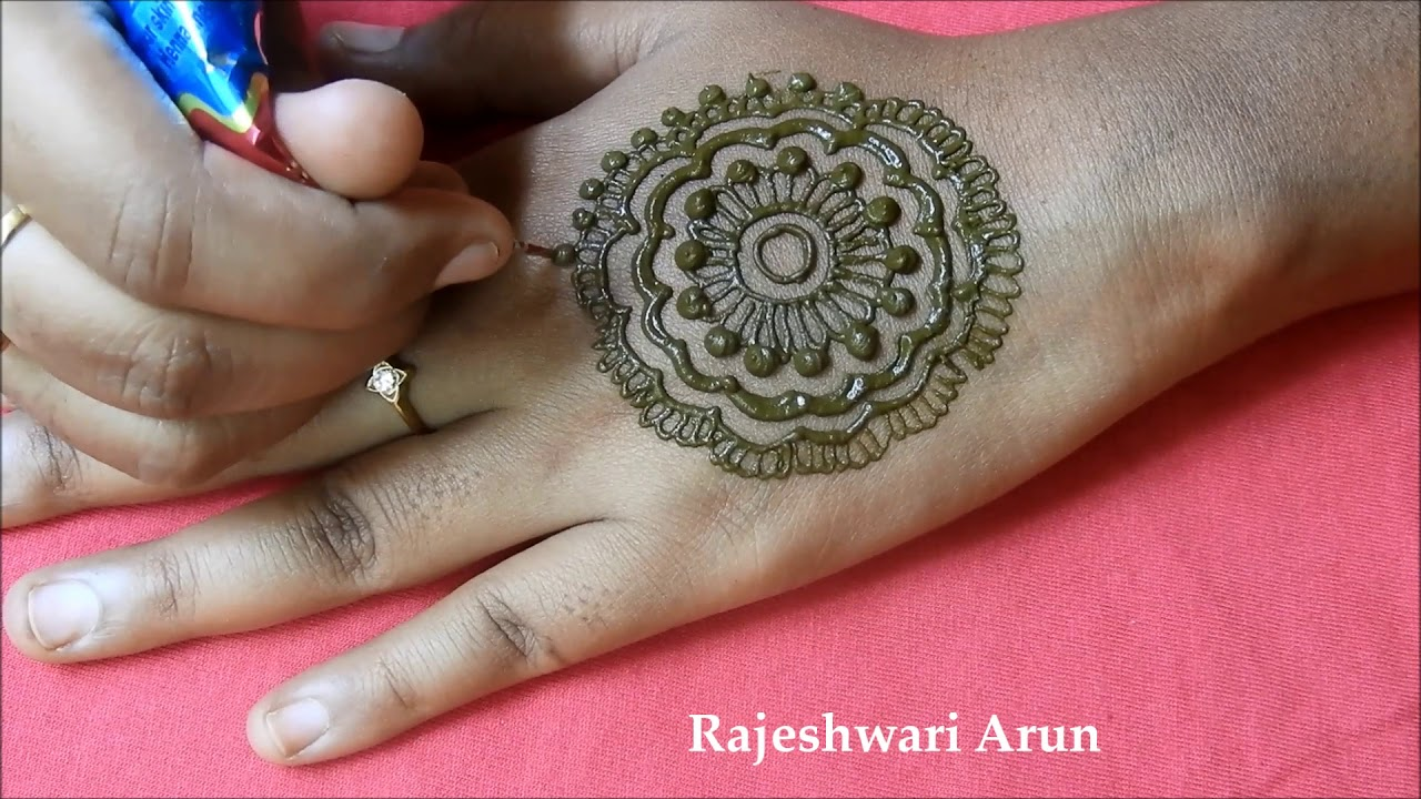 Easy Latest Mehndi Design For Hands For Kids Simple Mehndi Designs