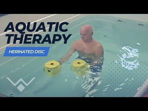 Herniated Disc Aquatic Therapy | HydroWorx Pool