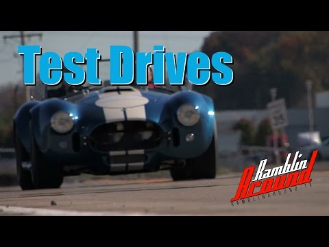 Awesome Test Drives of American Horsepower