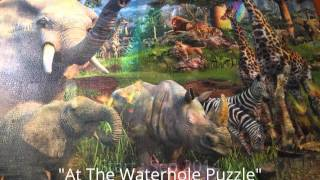 AT THE WATERHOLE (Ravensburger Puzzle  18000 pcs)