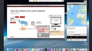 "Avaya Breeze Kunden-Websession: Demo ""Advance Mobile Location (AML)"""