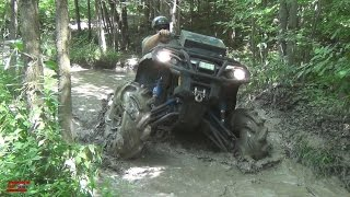 CAN-AM...POLARIS...YAMAHA WET MUDDY PLAY AREA