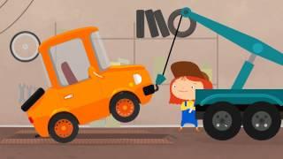 Мультфильм про эвакуатор и машинку со сломанным аккумулятором. Доктор Машинкова. мультфильмы 2015