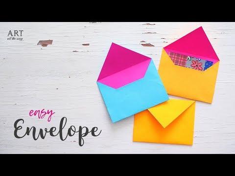 DIY Easy Paper Envelope Tutorial | Craft Ideas