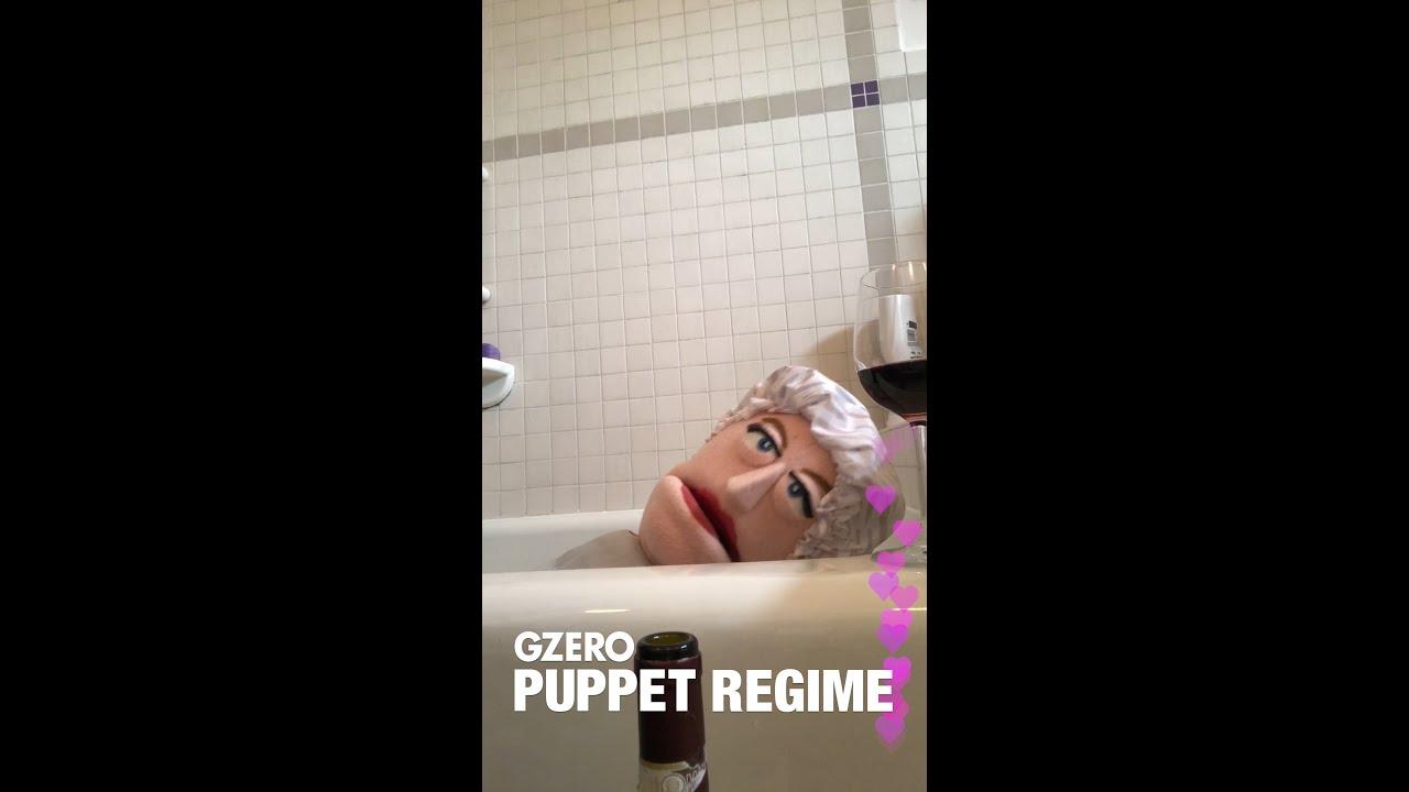 Quarantine Diaries: Angela Merkel is not a Hollaback Girl | PUPPET REGIME | GZERO Media #Regime